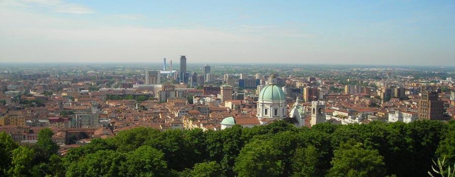 Panoramica di Brescia
